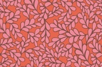 Poplin - Boxwood Coral (SOLD OUT)