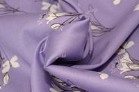 Stornetta Lavender cotton sateen (width 279 cm)