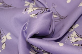 Picture of Stornetta Lavender cotton sateen