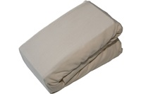Natural jersey fitted sheet-2