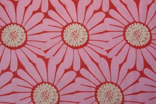 Picture of Daisy Coral poplin (SALE)
