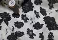 Graceland Black-White poplin