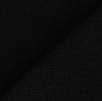 Black Ribbing 1x1 (with elastane) (717002)-2