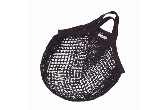 Foto Anthracite Granny String Bag 901017