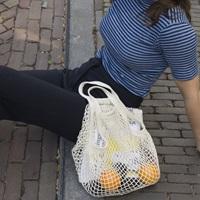 Natural Granny/String Bag (901000)-2