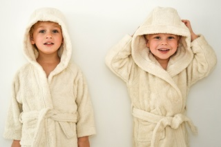 Picture of Kids Bathrobe - Natural (984000)