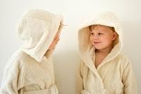 Kids Bathrobe - Natural (984000)-2