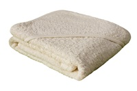 Baby towel with hood - Natural (981000)-2