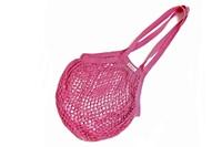 Fuchsia Granny/String Bag with long handle (901358)