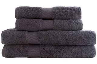 Picture of Guest towel 30x50 - Anthracite (989017)