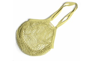 Picture of Lime Granny/String Bag with long handle (901343)