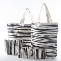 Cosmetic bag - Medium - Wrapping Stripes (926100)-2