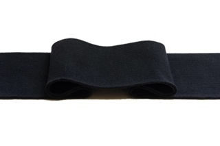 Picture of Black Cuff 1x1 (with elastane) (718102)