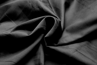 Picture of Black cotton sateen (width 162 cm)