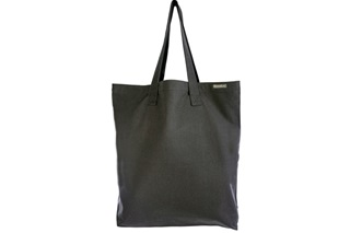 Picture of Canvas shopper tote XL - Anthracite (916017)