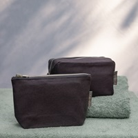 Cosmetic bag rectangle S Anthracite (925017)-2