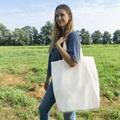Canvas shopper tote XL - Natural (916000)