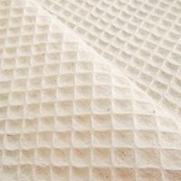 Natural Waffle fabric (645000)-2