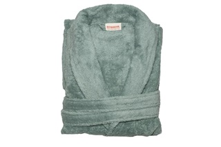Picture of Bathrobe - Mineral Green