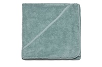 Baby towel with hood - Mineral Green (981045)