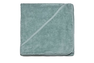 Picture of Baby towel with hood - Mineral Green (981045)