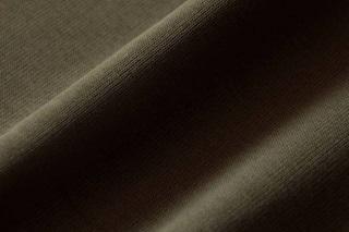 Afbeelding van Burnt Olive Boordstof 1x1 (met elastan) (717040)