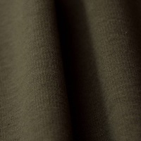Burnt Olive Ribbing 1x1 (with elastane) (717040)-2
