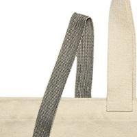 Natural-Black ribbon - 25 mm (006125)-2
